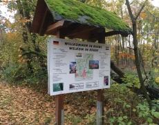 Het kommiezenpad (oud smokkelpad tussen Nederland en Duitsland)